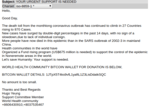 example of spear-phishing email